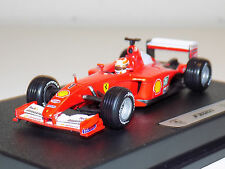 1/43 Mattell Hot Wheels F1 Constructors WC Ferrari F2001 #1 Michael Schumacher