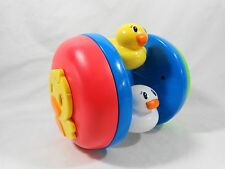 Playskool BUSY CHASE N CRAWL DUCKIES Duck Rolling Baby Infant Toy 2006 08998