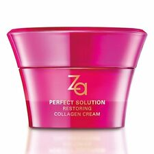 [SHISEIDO] ZA Perfect Solution Restoring Collagen Day and Night Cream 40g NEW