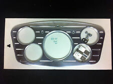 1933 1934 FORD CAR 5 GAUGE BILLET DASH INSERT STREET ROD