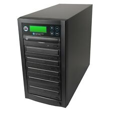1-5 DVD/CD Multiple Video Audio Disc Copier Duplicator System / 24x Burner Drive