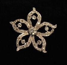 Lady's 9 Carat Diamond Tiffany & Co. Brooch in 18K White Gold - $60K Value