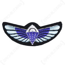 Modern British SAS PARACHUTE WINGS Padded Uniform PARA Patch Jump Badge Repro