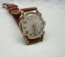 VINTAGE  BULOVA 15 JEWEL 10BS CLAM SHELL DIAL WRIST WATCH *NR*