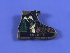 pins pin BADGE  france VILLE VILLAGE ARVIEUX CHAMOIS ARBRE MONTAGNE