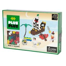 PLUS PLUS 360 Piece PIRATES Instructed Set, Puzzle Piece-Shaped Building Toy