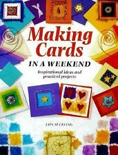 Jain Suckling - Making Cards In A Weekend (2000) - Used - Trade Paper (Pape