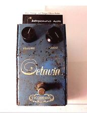 VINTAGE 1975 TYCOBRAHE OCTAVIA OCTAVE FUZZ EFFECT PEDAL RARE ORIGINAL ISSUE