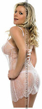 378 SEXY ART DECAL STICKER PIN UP GIRL HOT BLONDE SLIM FIT BODY WHITE LINGERIE