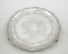 Antique Silver Salver Sheffield 1906 Frederick Wilson & Co