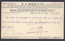 UX18 USED 1905 BUYING TUBS BOXES KEGS, BARRELS WON GOLD MEDAL IN PARIS 1900 NH