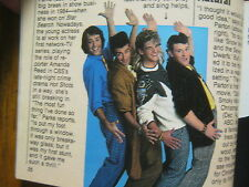 1986 TV Guide(THE  NEW  MONKEES/MARTY  ROSS/DINO  KOVAS/SHELLEY  HACK/THE A-TEAM
