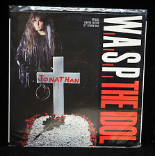 "WASP The Idol UK Etched 12"" Blackie Lawless W.A.S.P."