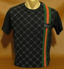 Brand NEW Men's GUCCI Slim Fit Black T-SHIRT Size M
