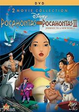Pocahontas 1 / Pocahontas 2 Journey to the New World DVD 2 Movies Disney New