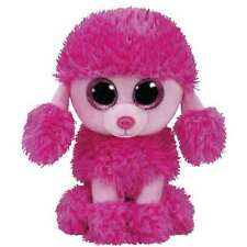 """Ty Beanie Boos 6"""" Patsey the Pink Poodle Plush"""