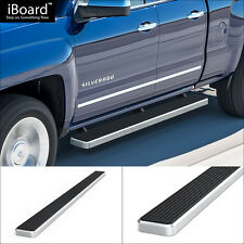 "5"" iBoard Running Boards Fit 07-16 Chevy/GMC Silverado/Sierra Ext.Cab/Double Cab"