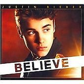 JUSTIN BIEBER / BEIBER - BELIEVE CD ALBUM BRAND NEW
