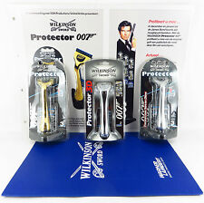 WILKINSON SWORD JAMES BOND 007 PROTECTOR RAZOR SET & PROMOTIONAL SALES BROCHURE