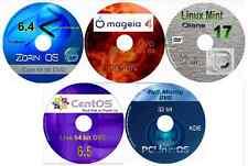 5 Linux OS su 5dvds, zorin, Menta, mageia, pclinuxos & CentOS, 64 bit