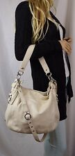 COACH LEATHERWORKS Zoe Ivory Pebbled Leather Convertible Cross Body Bag