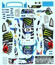 Colorado Decals 1/43 FORD FIESTA RS WRC Ken Block #43 Mexico 2013