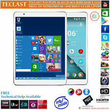 TECLAST X98 INTEL Z8300 Dual 3G 64GB PLUS os WINDOWS 10 ANDROID 5.1 Tablet PC