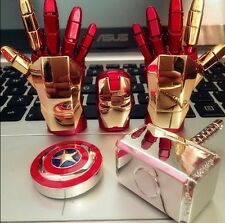 Iron Man Hand USB Flash Drives Cute Gift box32G memory stick Movie Hero Fastpost