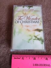 Christmas Music Cassette Tape Tommy Coomes Band Billy Graham Presents The Wonder