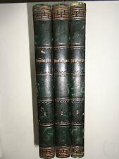 Demiurgos, Wilhelm Jordan, BRockhaus Leipzig, 1854, 3 Bände, antik