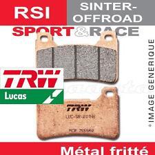 Plaquettes de frein Arrière TRW Lucas MCB 730 RSI pour Honda CR 250 R 02-07