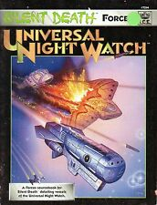 SILENT DEATH-UNIVERSAL NIGHT WATCH-Sourcebook-RPG-(SC)-very rare