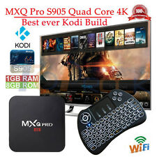 Fully Loaded MXQ PRO S905 Amlogic Quad-Core  WiFi Android TV Box+Backlit Keypad