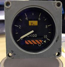 RAF Tornado F3 RAF LV cabina de avión indicador de temperatura del motor