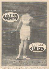 Y6281 FELINA Seitenschluss - Pubblicità d'epoca - 1925 Old advertising