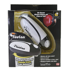 TouCan World's Easiest Hands Free Can Opener - AS SEEN ON TV