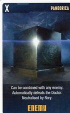 Doctor Who the Card Game 2009 c7e - 6 Art Cards: Pandorica, Cybermen, Roboforms
