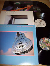"3 RARE Dire Straits NEAR MINT 12"" LPs Dire Straits/Brothers in Arms/Money For No"