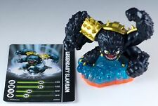 Skylanders Giants Legendary Slam Bam Figure Loose With Trading Stat Card