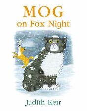 Mog on Fox Night, Judith Kerr, New