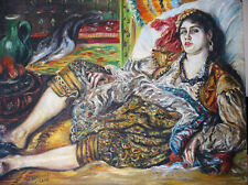 Female Algiers - W.Kowal - after  A.Renoira - oil painting