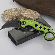 Outdoor Survival Camping Hunting Claw Folding Knife Sharp Blade Cutter Tool