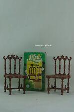 Fleur ( dutch Sindy ) barbie sized 2x chairs furniture set NRFB RARE!