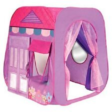 NEW! Playhut Beauty Boutique Lightweight Play Hut with Twist ' N Fold Technology
