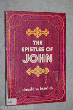 The Epistles of John by Donald W Burdick (Paperback) EVERYMAN'S BIBLE COMMENTARY