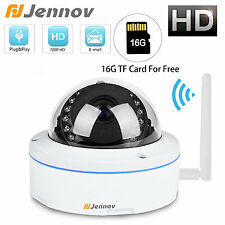 Jennov 16G SD 720P HD Wireless WiFi IP Camera Onvif CCTV SD TF Card outdoor IP66