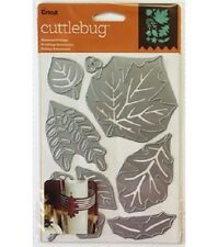 "Cricut Cuttlebug Cut & Emboss Die Set - Seasonal Foliage 5""x7"" 2003467"