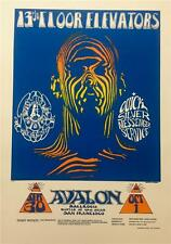 Zebra Man Signed Lithograph Stanley Mouse Alton Kelley Avalon Ballroom S2 Art