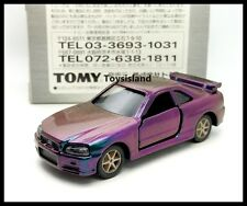 TOMICA LIMITED TL Mazoora Color NISSAN SKYLINE GT-R R34 1/61 TOMY DIECAST CAR