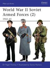 Osprey Men at arms 468 : World War II Soviet Armed Forces (2) / NEU